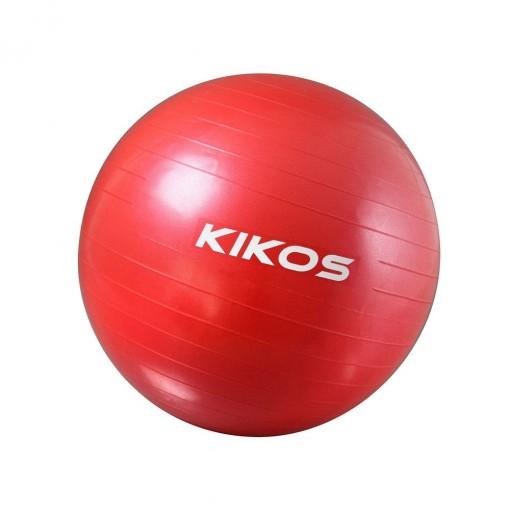 Bola de Ginástica Kikos 55cm Vermelha (AB3630/55)
