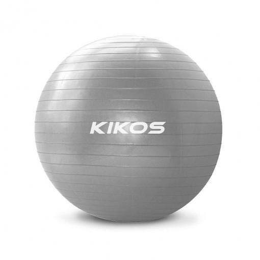 Bola de Ginástica Kikos 75cm Cinza (AB3630/75)