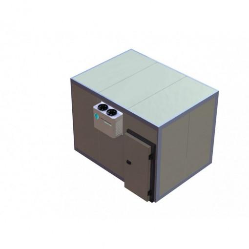 Câmara Fria CMC3 Congelado Premium 3,75X2,30X2,70M com PLUG-IN 220V Trifásico - Continental