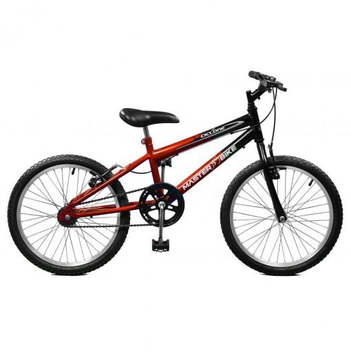 Bicicleta Aro 20 Masculina Ciclone sem Marchas Master Bike
