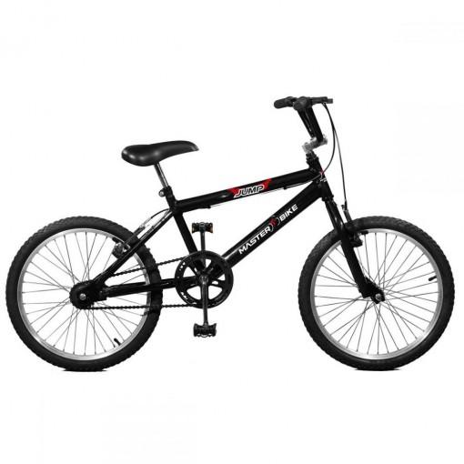 Bicicleta Aro 20 Masculina Jump Preto Master Bike