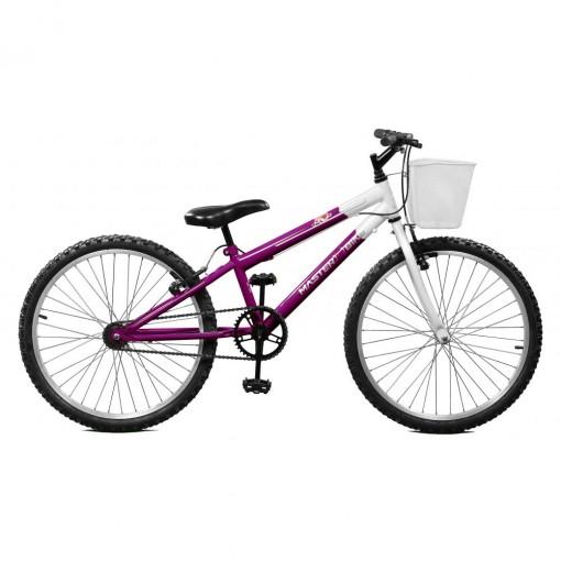 Bicicleta Aro 24 Feminina Serena BR sem Marchas Master Bike