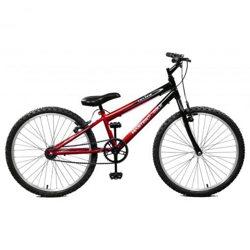 Bicicleta Aro 24 Masculina Ciclone VM e PT Master Bike