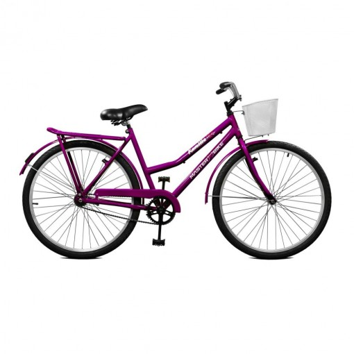 Bicicleta Feminina Kamilla Contrapedal Violeta - Master Bike