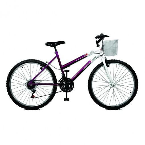 Bicicleta 26 Feminina Master Bike Serena Plus