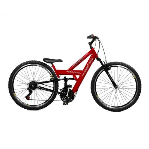 Bicicleta Aro 26  Master Bike Kanguru Style Rebaixada 21m