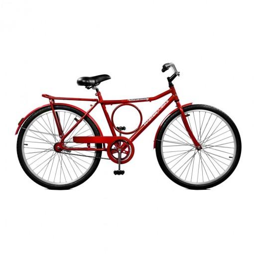 Bicicleta Super Barra Contrapedal Vermelha Aro 36 - Master Bike