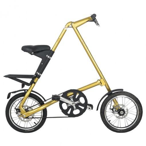 Bicicleta Dobrável Cicla Dourada Igitop