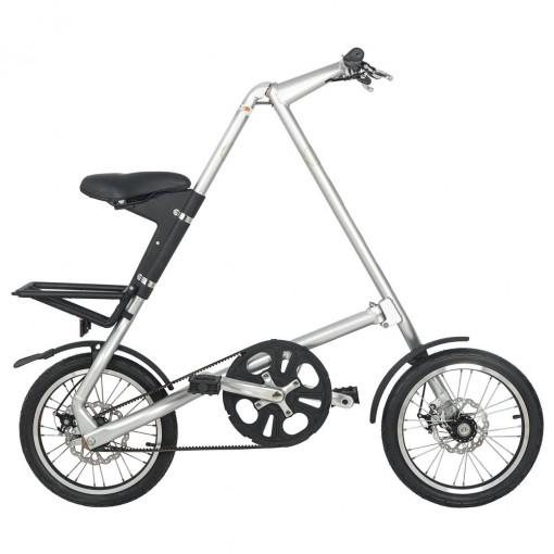 Bicicleta Dobrável Cicla Prateada Igitop