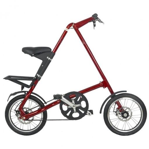 Bicicleta Dobrável Cicla Vermelha Igitop