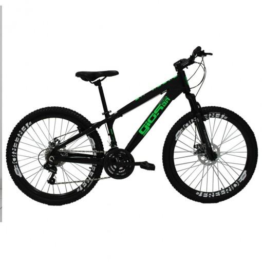Edredon Bicicleta.Bicicleta Aro 26 Gios Frx Freeride 21v Preto Verde