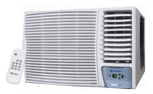 Ar Janela Springer Eletronico com Controle 30000 BTU Quente e Frio 220v