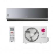 Ar Cond LG Split Libero ArtCool Inverter 9000 BTU Fr Espelhado AS-Q092BRG2