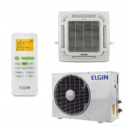 Ar Condicionado Split Cassete 360 Eco 24000 BTUs Elgin Q/F 220V Mono 45KEQE24B2NB