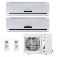 Ar Condicionado Electrolux Multisplit Ecoturbo 2x 9000 BTUs 220V Frio NI09F/NE18F