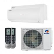 Imagem - Ar Condicionado Multi Split Inverter Bi Split Gree 18000 BTUs (2x 9000) Q/F 220V Mono cód: 010410004011822220