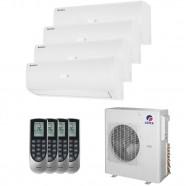 Imagem - Ar Condicionado Multi Split Quadri Gree Inverter 36000 BTUs (3x9000+12000) Q/F 220V cód: 010410004013022226