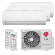Imagem - Ar Condicionado Multi Split Tri Split Inverter LG 30000BTUs (2X9000+1X12000) Q/F 220V cód: 010411001012722222
