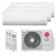 Imagem - Ar Condicionado Multi Split Tri Split Inverter LG 30000BTUs (1X9000+1X12000+1X18000) Q/F 220V cód: 010411001012722224