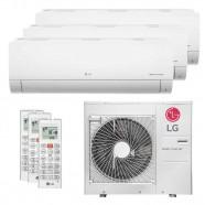 Imagem - Ar Condicionado Multi Split Tri Split Inverter LG 36000BTUs (2X12000+1X18000) Q/F 220V cód: 010411001013022221