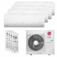 Imagem - Ar Condicionado Multi Split Quadri Split Inverter LG 36000BTUs (2X12000+2X9000) Q/F 220V cód: 010411001013022222