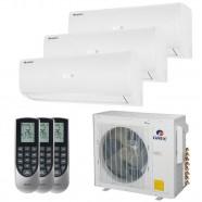 Imagem - Ar Condicionado Multi Split Tri Inverter Gree 30000 BTUs(2X12000+9000)Q/F 220V cód: 010411004012722223