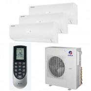 Imagem - Ar Condicionado Multi Split Inverter Tri Split Gree 42000 BTUs (2x9000+1x24000) Quente e Frio 220V GWHD42ND3EO cód: 010411004013222223