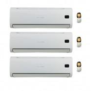 Ar Condicionado Tri Split Hi Wall 36000 BTUs (3x12000 BTUs) Komeco Q/F 220V