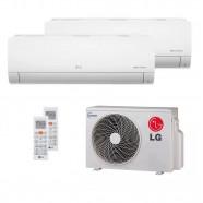 Ar Condicionado Bi Split Inverter 1x9000 BTUs + 1x12000 BTUs LG Q/F 220V A2UW16GFA2