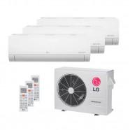 Imagem - Ar Condicionado Tri Split Inverter 2x12000 BTUs + 1x9000 BTUs LG  Q/F 220V A3UW21GFA2 cód: 011201001012922221
