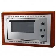 Imagem - Forno Elétrico de Embutir Nardelli N450 Espelhado 45L 220V 10016311 cód: 161020011805200011