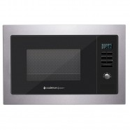 Micro-Ondas de Embutir 25L Gourmet Inox Preto 127V (MIC300) - Cadence