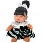 Boneca Fantasia Baby Zebrinha 971 - Anjo