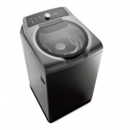 Imagem - Lavadora de Roupas 15Kg Grafite Metálico Double Wash Brastemp 110V BWD15A9 cód: 392060330141000051
