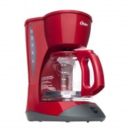 Imagem - Cafeteira Red Cuisine Vermelho 900W Oster 220V cód: 431250440042000061