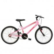 Imagem - Bicicleta MTB Aro 20 V-Brake Feminina Rosa Polimet 7139 cód: 541131103059041011