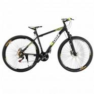Imagem - Bicicleta Aro 29 Freio a Disco 21 Vel Câmbio Shimano Preto/Verde QGK B29 QGKMTB001-01 cód: 54153120609A024021