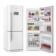 Imagem - Refrigerador Electrolux Frost Free Bottom Freezer 454L Branco 127V DB53 cód: 760020153913040101