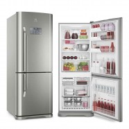 Imagem - Refrigerador Electrolux Bottom Freezer Inverter 454L Inox 220V IB53X cód: 760020215082010308
