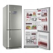 Imagem - Refrigerador Electrolux Bottom Freezer Inverter 454L Inox 127V IB53X cód: 760020240551080209