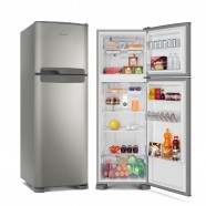 Imagem - Refrigerador Continental Duplex Frost Free 370L Prata 220V cód: 761020106523090201