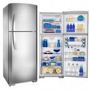 Refrigerador Continental 467L 220V 2 Porta Inox Cycle Defrost