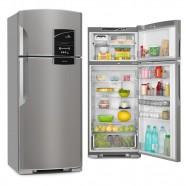 Refrigerador Continental 403L 2 Porta Inox Frost Free 127V