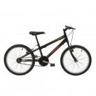 Imagem - Bicicleta MTB Aro 20 V-Brake Masculina  Preta - Polimet 7130 cód: 541131103038041011