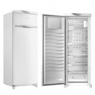 Imagem - Freezer Vertical Brastemp 1 Porta Frost Free 228L Branco 127V BVR28MB cód: B100600020804010508