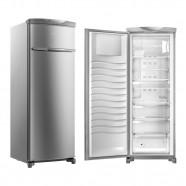Imagem - Freezer Vertical Brastemp 1 Porta Frost Free 228L Inox 127V BVR28MK cód: B100600020804060504