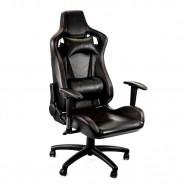 Imagem - Cadeira Gamer Racer Giratória Gallant Altura Regulável Preta e Vermelha GCD100RPUA-PT cód: CG0102010021360012