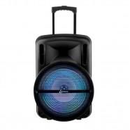 Caixa de Som Amplificada Lenoxx c/ Bluetooth USB/SD/P10/AUX Radio FM/Karaokê Bateria Interna CA-350