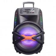 Imagem - Caixa de Som Portátil Gallant 200W Radio FM Bluetooth 4.2 USB/SD/AUX Bivolt GCS15F01A_PTBIV cód: CS1013612020203481
