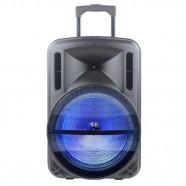 Imagem - Caixa de Som Portátil Gallant 200W Radio FM Bivolt Bluetooth 4.2 USB/SD/AUX cód: CS1013612020203581